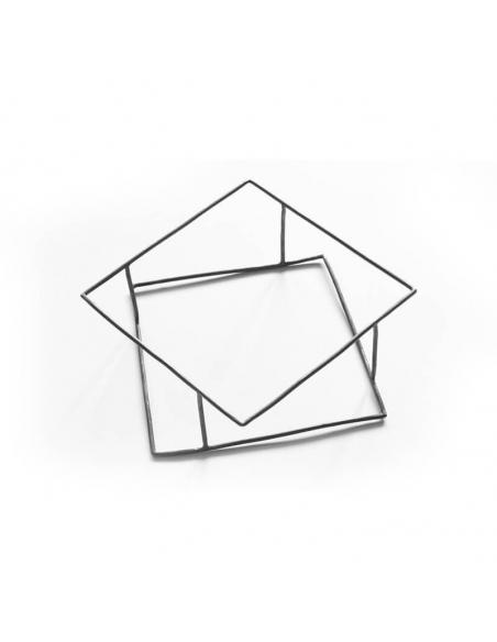 Bratara TRANSLATIONS design minimal, realizata manual. - Monom